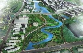 江西吉安市后河中下游控制性详细规划