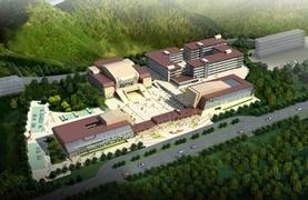 全国青少年井冈山革命传统教育基地代建项目占地50172.85 m2,总建筑面积47475.95m2