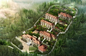 江西老干部庐山疗养中心代建项目总用地面积为46.2亩,总建筑面积为17328.68 m2,总投资约为1.15亿元,工期12个月